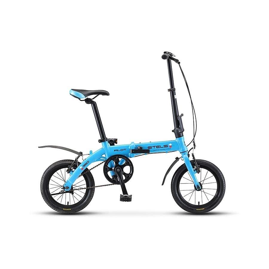 """Ультра компактный складной велосипед STELS Pilot 360 14"""" (2019)"""